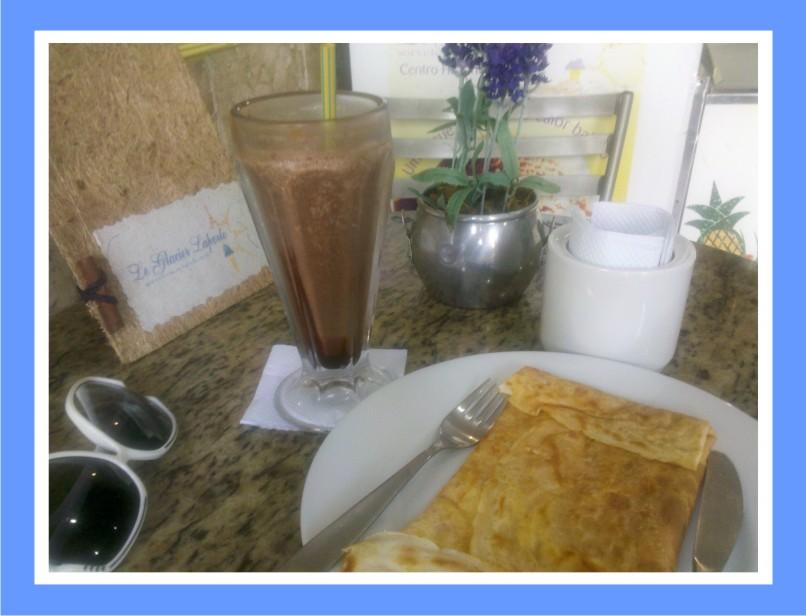 Culpada, Confesso - Le Glacier Laporte - Milk Shake e Crepe