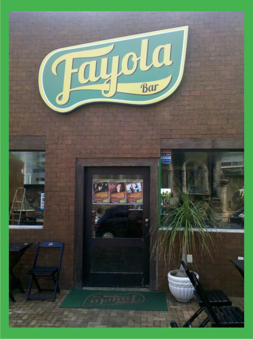 Culpada, Confesso - Fayola Bar - Fachada